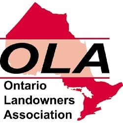 OLA ontario landowners association logo campertunity camping campsite canada