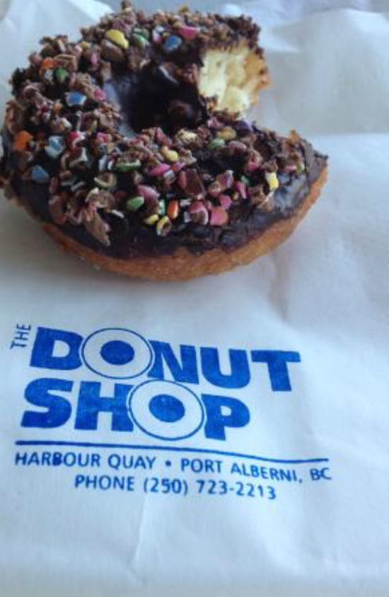 Donut, The Donut Shop Port Alberni